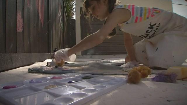 8-Year-Old Girl Raises Thousands for Children's Hospital