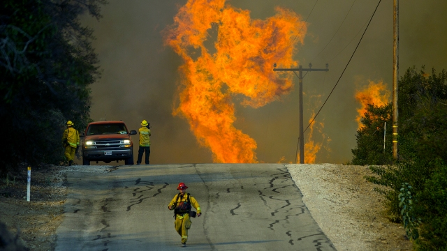 Battle Against Thomas Fire Estimated to Cost $96.9 Million
