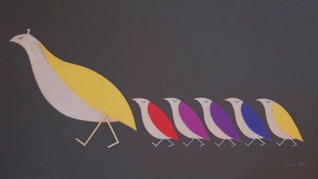 'The Partridge Family' Art at Auction
