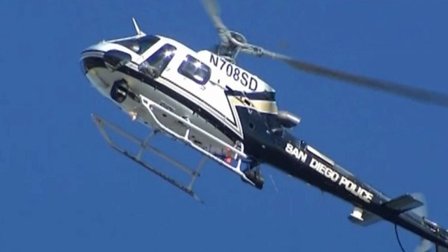 SDPD Helicopters Getting High Tech Upgrade