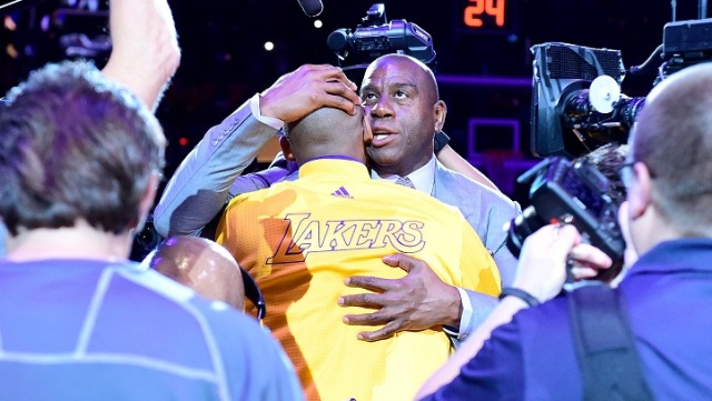 "Magic Johnson Takes on ""Dream Job"" With Lakers"