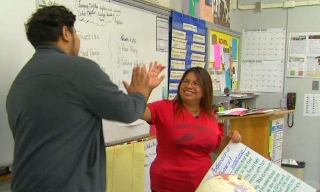 Teacher Inspires Immigrant Students With Her Own Story