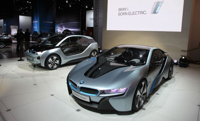 Closer Look: BMW's New i3, i8 Models