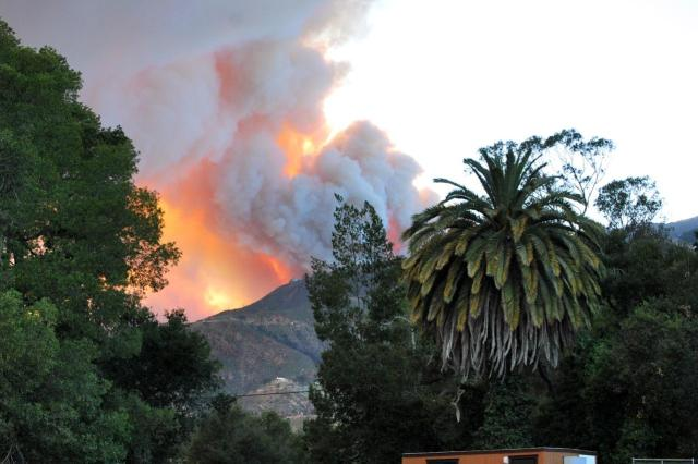 Viewer Photos: Santa Barbara Wildfire