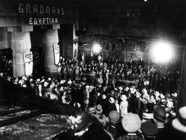 Egyptian Theatre to Show Nitrate Films