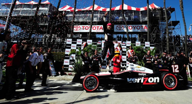 Images From Sunday's Toyota Grand Prix of Long Beach: Will Power Wins