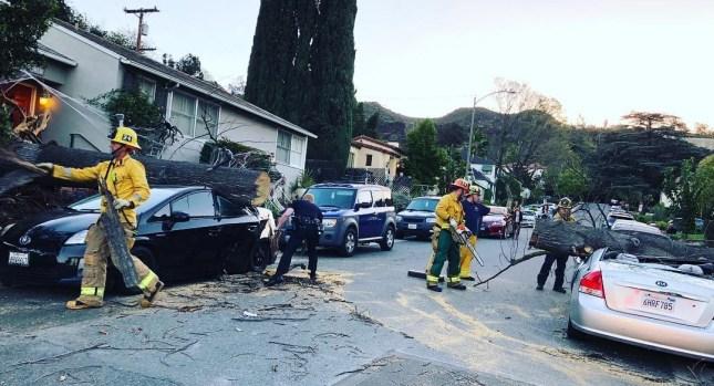 October Weather Photos: Santa Ana Winds Slam Southern California