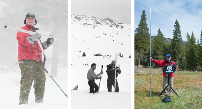 California Snowpack Through the Years