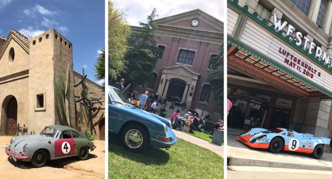 Porsche Icons Bring a Vintage-Cool to the Universal Studios Backlot