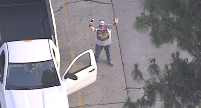 Whittier Car Chase May