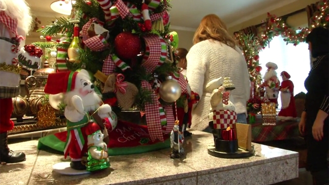 Calif. Woman Decks Home With 23 Christmas Trees