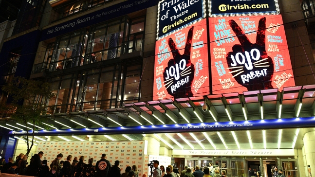 'Jojo Rabbit' Wins Toronto's Sought-After Audience Award