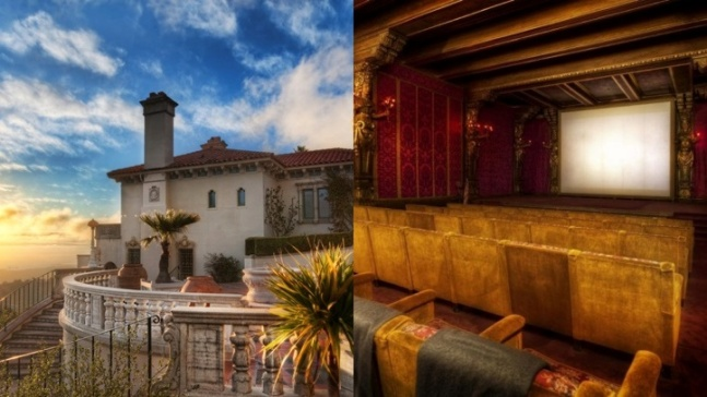 Rare Chance to See a Film at Hearst Castle