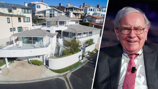 Warren Buffett's Laguna Beach Pad Sells for $7.5 Million