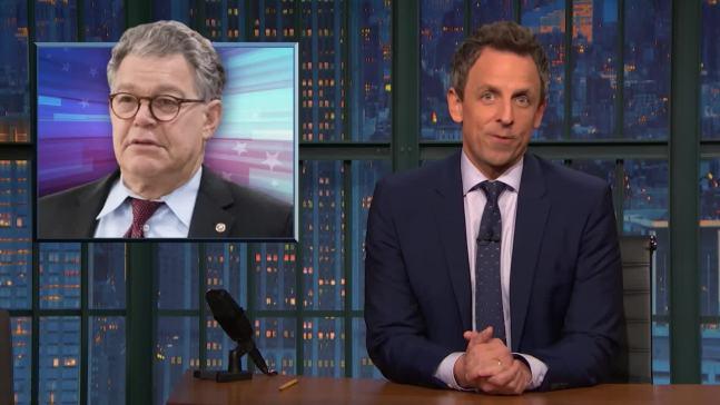'Late Night': A Closer Look at Sen. Al Franken's Resignation