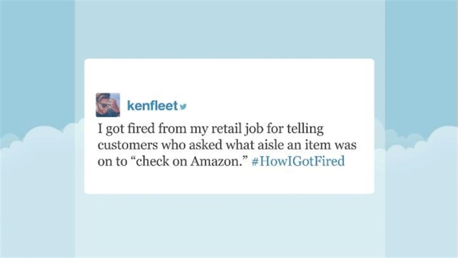 'Tonight': Tweets Recounting Getting Fired