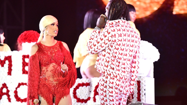Offset Interruption of Cardi B's Set at Rolling Loud Festival Draws Outrage