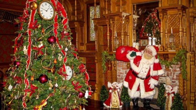 Holidays (Not Hauntings) Sparkle at Winchester Mystery House