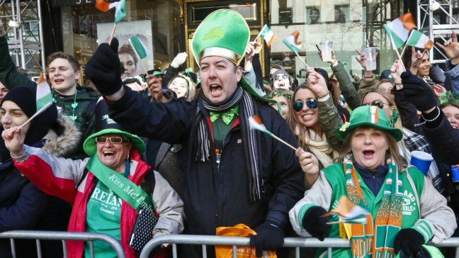 St. Patrick's Day Parade to Kick Off in New York City