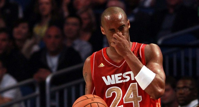 2012 NBA All-Star Game: Lakers, Clippers and Kobe Bryant's Nose