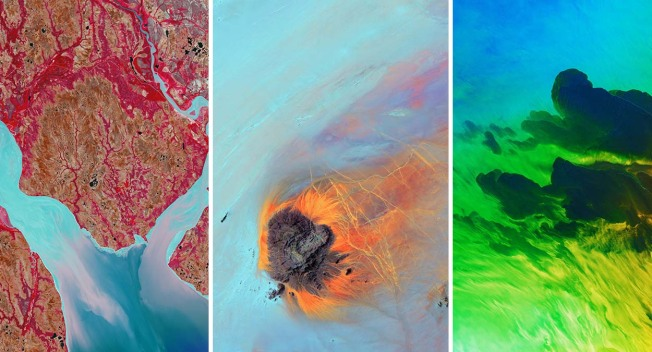 Earth as Art: USGS Images Capture Dramatic Landscapes From High Above