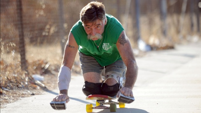 Paralyzed Skateboarder Wants to Ride in LA Marathon