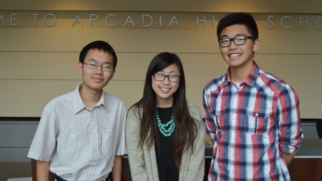 Three Arcadia High School Students Score Perfect 2,400 On SAT