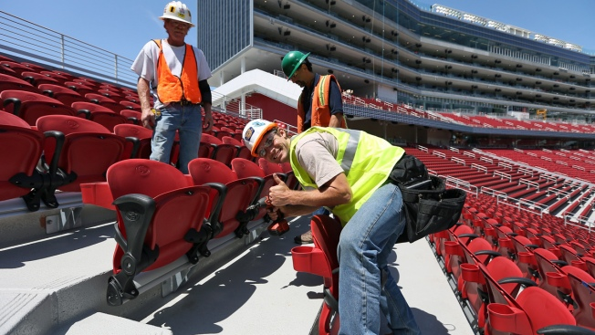 Last Seat Installed at Levi's Stadium, New Home of San Francisco 49ers