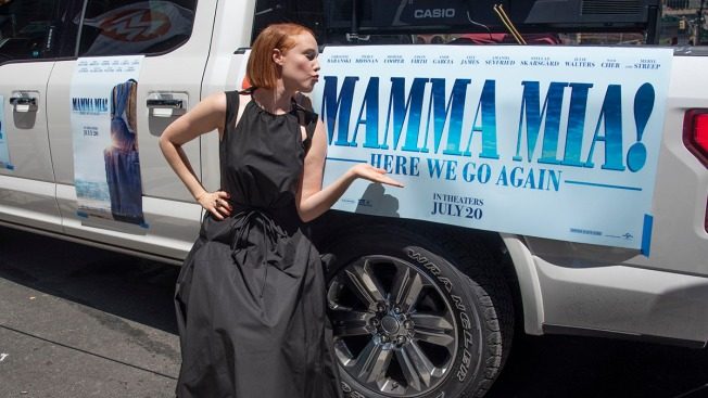 'This is the Dream': Jessica Keenan Wynn Makes Film Studio Debut in 'Mamma Mia! Here We Go Again'