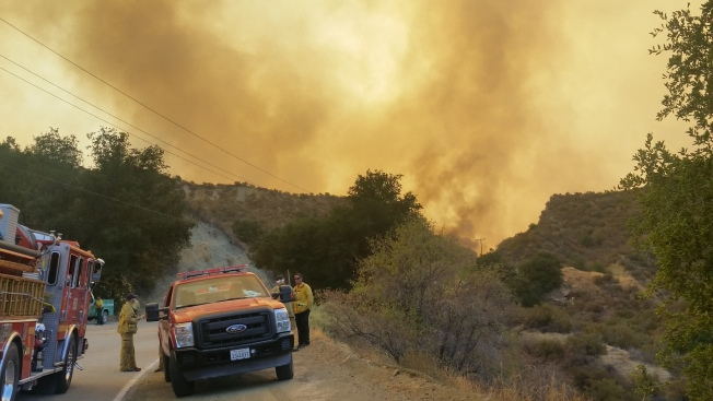 Sand Fire Evacuation, Road Closure Updates