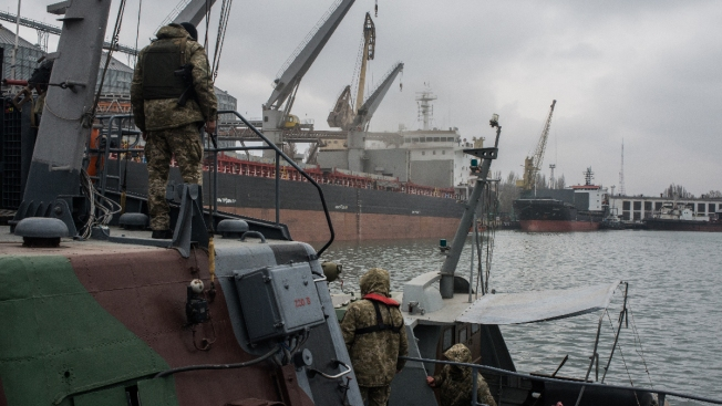 Ukraine Urges NATO to Deploy Ships in Dispute With Russia