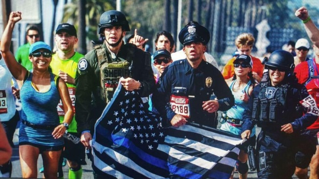 LAPD Officers to Run 420 Miles in Uniform for Colleagues Killed in Line of Duty