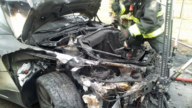 Third Tesla Model S Fire Reported