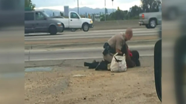 Woman in Freeway Beating Files Civil Rights Lawsuit Against CHP