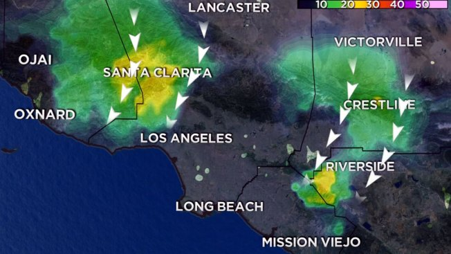 Wind, Waves to Slam Southern California