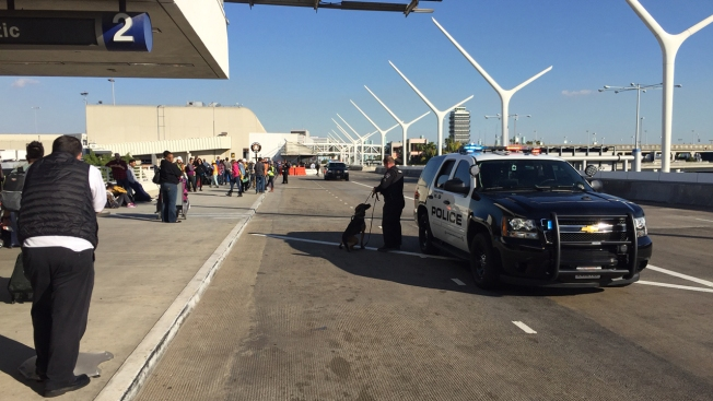 Bomb Threat Forces Evacuation of LAX Terminal 1