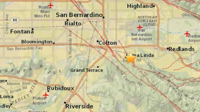 Missions In Southern California Map.2 9 Magnitude Quake Rattles Loma Linda Area Nbc Southern California