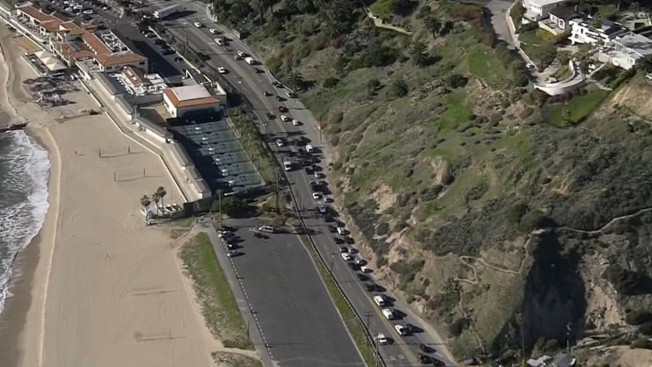 PCH in Pacific Palisades Reopens After Downed Power Line