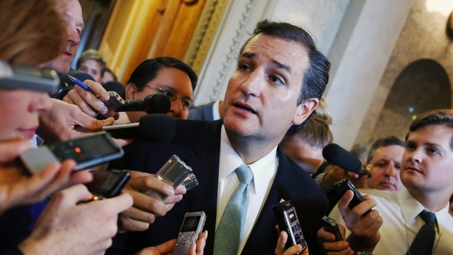 Cruz Won't Give Up Senate Pay in Gov't Shutdown