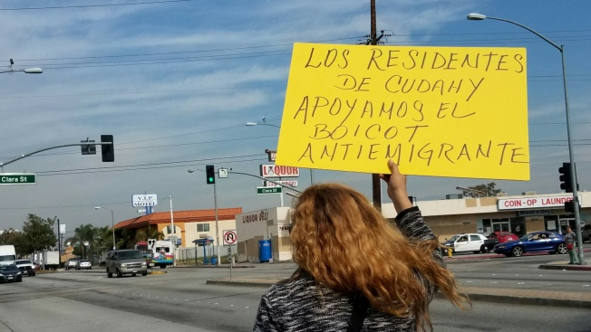 'Day Without Immigrants' in Southern California