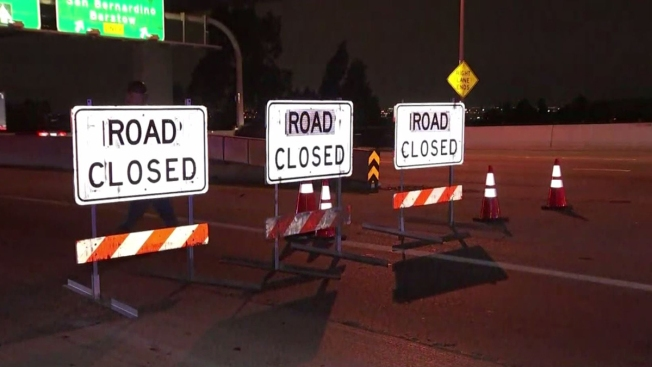 Westbound 60 Freeway Closure Planned Friday Night to Monday Morning