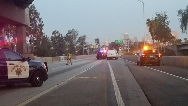 Fatal Crash Closes Part of Freeway Interchange Near Downtown