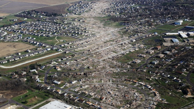 Death Toll From Illinois Tornadoes Reaches 7