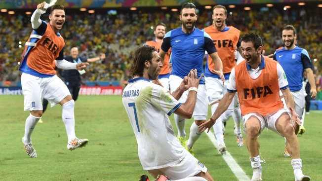 Greece Advances After Late Penalty at World Cup