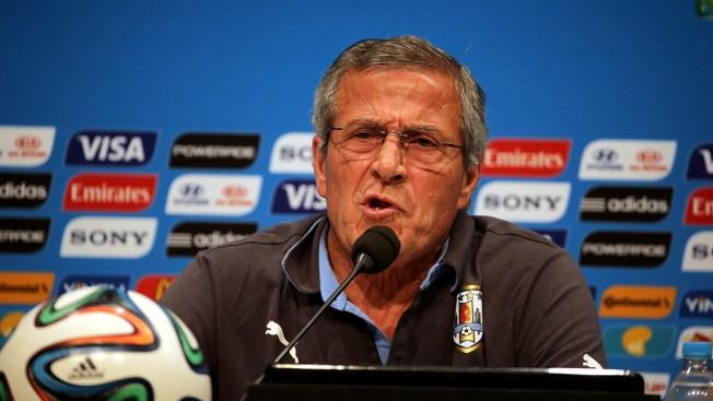 Uruguay Coach Quits FIFA Over Suarez Bite Ban