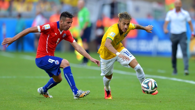 Brazil Beats Chile 3-2 in Shootout at World Cup
