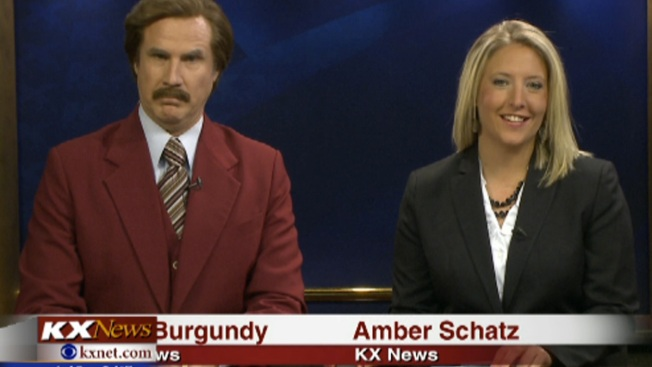 Stay Classy ND: Ron Burgundy Co-Anchors Newscast