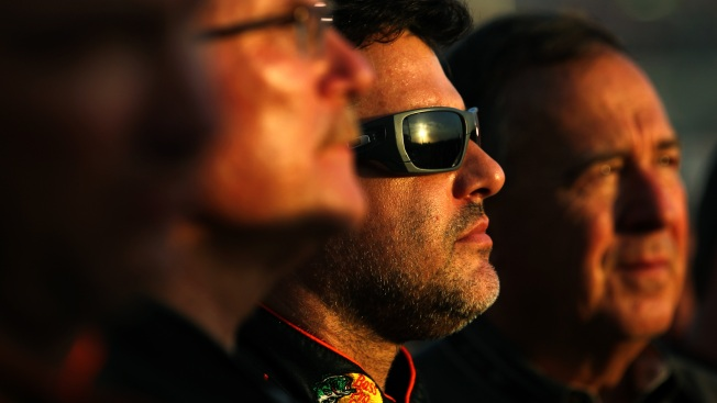 Tony Stewart's Return to Track Marred by Collision