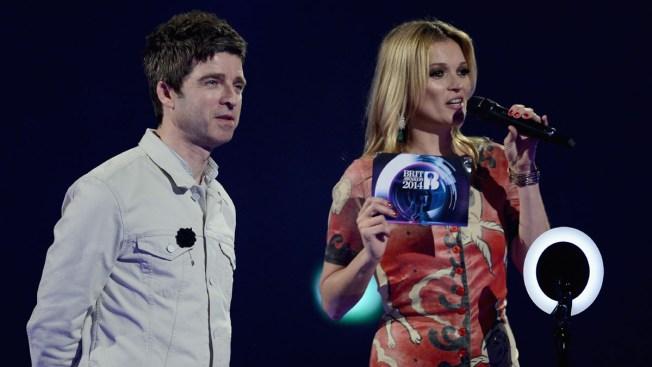 Absent David Bowie Steals Show at Brit Awards
