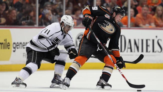 Gaborik's 2 Late Goals Hand Kings Game 1 Victory Over Ducks